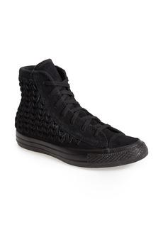 Converse Chuck Taylor® All Star® Woven Suede High Top Sneaker (Women)