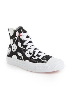 Converse Chuck Taylor® Cherry Print High Top Sneaker (Women)