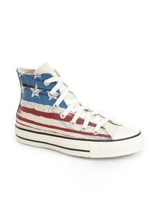 Converse Chuck Taylor® Flag Print High Top Sneaker (Women)
