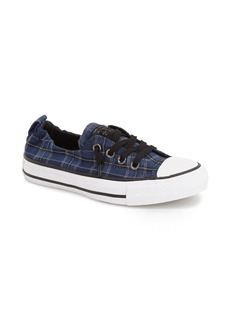 Converse Chuck Taylor® 'Shoreline' Plaid Slip-On Sneaker (Women)