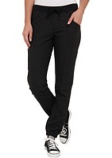 Converse Coated Seamed Ankle Knit Pant