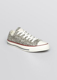 Converse Flat Lace Up Sneakers - Low Top