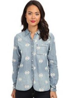 Converse Printed Chambray Woven Shirt