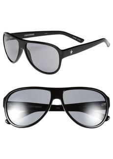 Converse 'Tall Tale Teller' 60mm Aviator Sunglasses