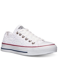 Converse Women's Chuck Taylor CT Ox Eyelet Sneakers from Finish Line
