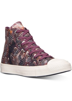 Converse Women's Chuck Taylor Hi Top Feather Casual Sneakers from Finish Line