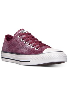 Converse Women's Chuck Taylor Ox Sparkle Wash Casual Sneakers from Finish Line