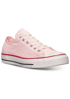Converse Women's Chuck Taylor Ox Washed Canvas Casual Sneakers from Finish Line