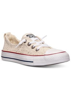 Converse Women's Chuck Taylor Shoreline Eyelet Casual Sneakers from Finish Line