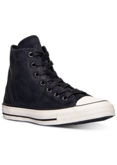 Converse Women's Chuck Taylor Tri-Zip Burnished Suede Casual Sneakers from Finish Line