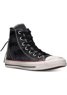 Converse Women's Chuck Taylor Tri-Zip Sparkle Wash Casual Sneakers from Finish Line