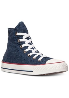 Converse Women's CT Hi Eyelet Sneakers from Finish Line
