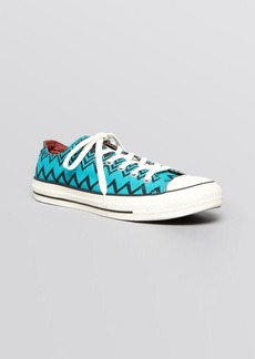 Converse X Missoni Flat Lace Up Sneakers - Chuck Taylor All Star Classic Oxford