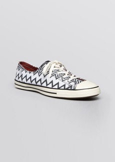 Converse X Missoni Flat Lace Up Sneakers - Chuck Taylor All Star Fancy Oxford
