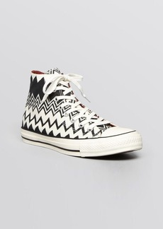 Converse X Missoni Lace Up High Top Sneakers - Chuck Taylor All Star