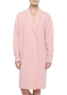 Aosta Fleece Short Robe, Rosa Sorbetto   Aosta Fleece Short Robe, Rosa Sorbetto