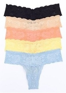 Cosabella Never Say Never Cutie Low Rise Thong 5-Pack