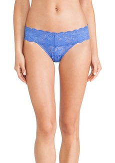 Cosabella Never Say Never Cutie Thong in Blue