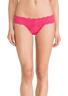 Cosabella Never Say Never Cutie Thong in Fuchsia