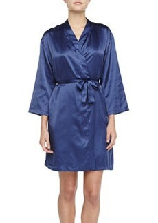 Cosabella Silk Wrap Robe, Twilight
