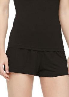 Cosabella Talco Jersey Boxer Shorts, Black