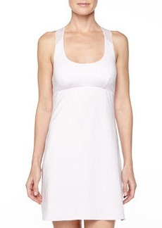 Cosabella Trenta Lace-Back Short Slip Dress, Petal