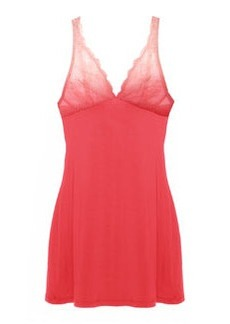 Trenta Ombre Lace Chemise, Coral/Rosa Sorbet   Trenta Ombre Lace Chemise, Coral/Rosa Sorbet