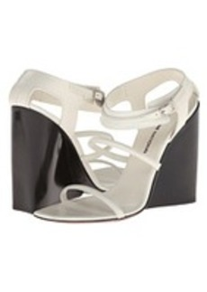CoSTUME NATIONAL Strappy Wedge Sandals