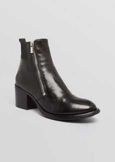 CoSTUME NATIONAL Booties - Double Zipper