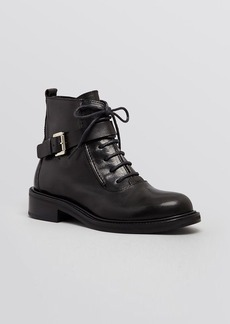 CoSTUME NATIONAL Combat Booties - Laceup