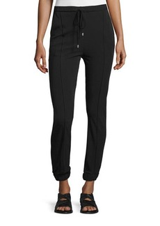 CoSTUME NATIONAL Drawstring-Waist Skinny Jogger Pants