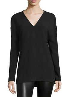 CoSTUME NATIONAL Dropped-Shoulder V-Neck Shirt