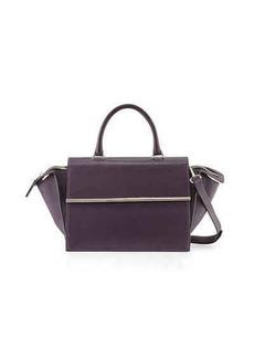 CoSTUME NATIONAL East-West Leather Satchel Bag