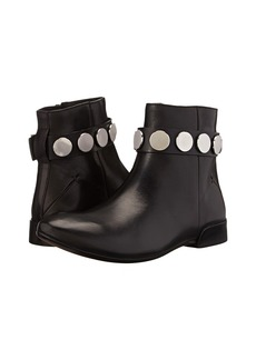 CoSTUME NATIONAL Flat Bootie w/ Stud Ankle Strap