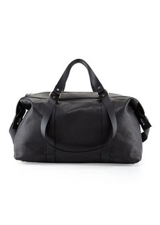 CoSTUME NATIONAL Grained Leather Duffel Bag