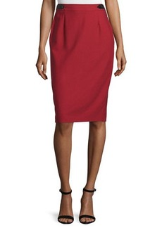 CoSTUME NATIONAL High-Waist Pencil Skirt