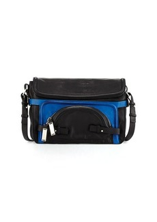 CoSTUME NATIONAL Large Pochette Leather Shoulder Bag