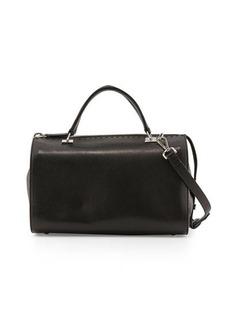 CoSTUME NATIONAL Leather Large Satchel Bag