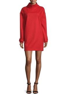 CoSTUME NATIONAL Long-Sleeve Funnel-Neck Dress