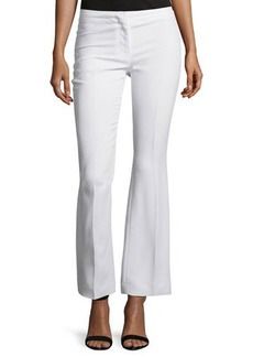 CoSTUME NATIONAL Mid-Rise Flare-Leg Pants