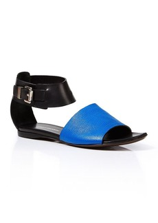 Costume National Open Toe Sandals - Colorblock