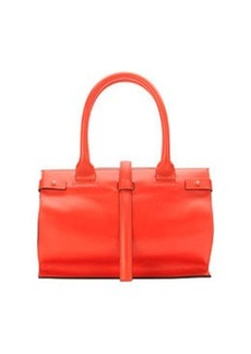 CoSTUME NATIONAL Parigi Framed Shopper Tote Bag, Red