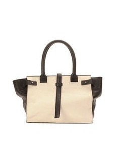 CoSTUME NATIONAL Parigi Two-Tone Framed Shopper Tote Bag