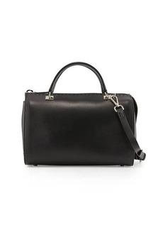 CoSTUME NATIONAL Pebbled-Leather Large Satchel Bag