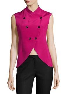 CoSTUME NATIONAL Sleeveless Double-Breasted Jacket