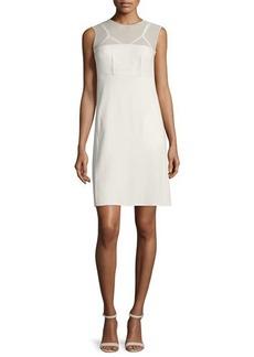 CoSTUME NATIONAL Sleeveless Sheer-Yoke Dress