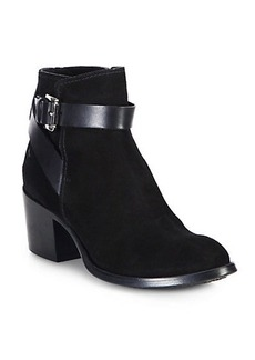 Costume National Suede Ankle Boots