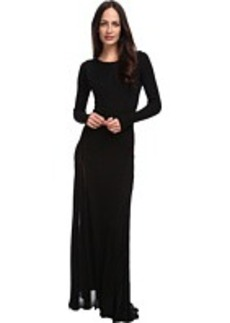 CoSTUME NATIONAL Turtleneck Knit Maxi Dress