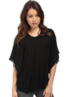 CoSTUME NATIONAL Viscose Jersey Dolman Sleeve Top