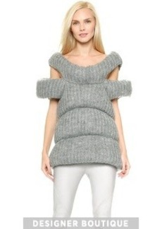 CoSTUME NATIONAL Wool Vest